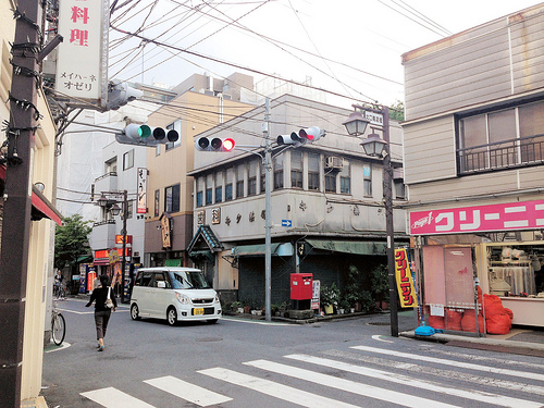 Arai Yakushi north side shopping street 新井薬師北口商店街
