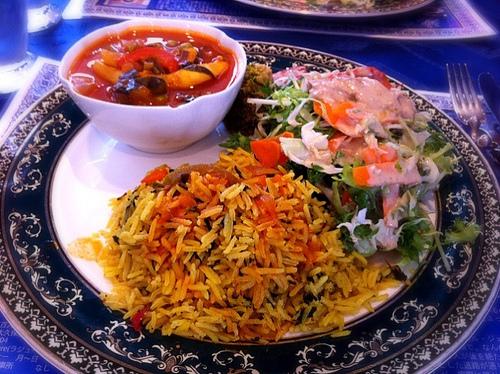 今日のランチは地中海料理のランチ。\900 #lunch