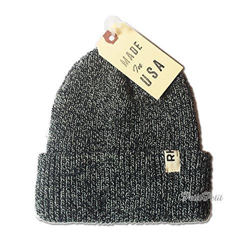 Ron Herman(ロンハーマン) RHCロンハーマン ニットビーニー(帽子) (ブラック/霜降り)