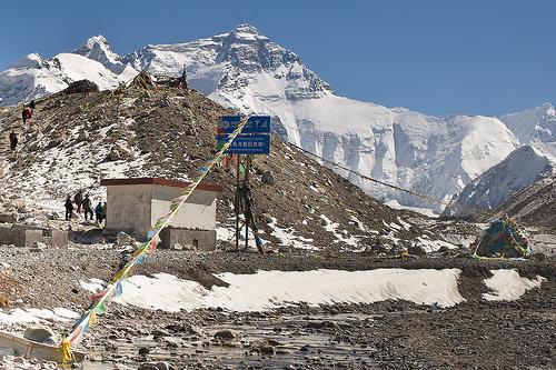 Tibet Mount Everest