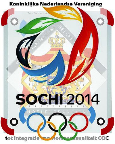 Sochi 2014: COC geef dat Koninlijk Predicaat van je Vereniging terug aan de IOC Koning Willem Alexander