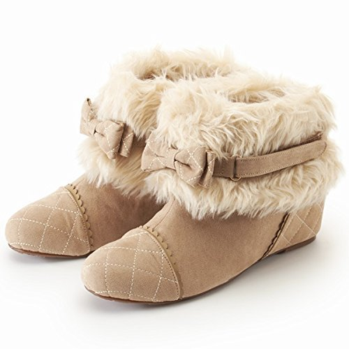リズリサ(シューズ)(LIZLISA) ブーツ(ボア付きショートブーツ)