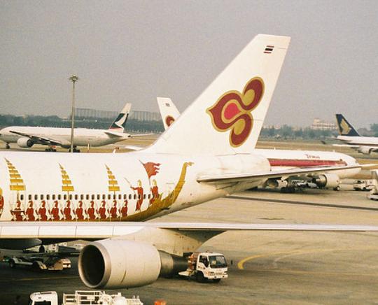 タイ航空の写真