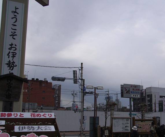 伊勢市駅前の画像