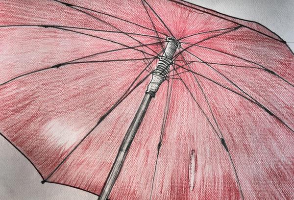 折りたたみ傘の画像